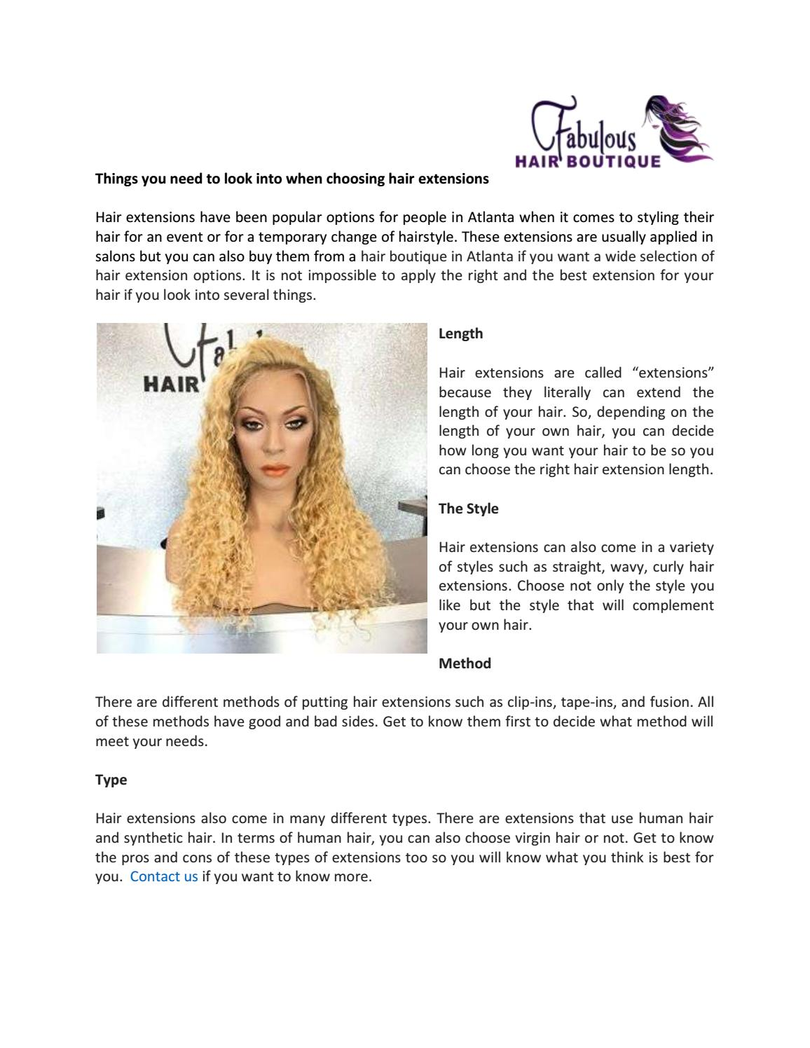 Things You Need To Look Into When Choosing Hair Extensions By Dillip