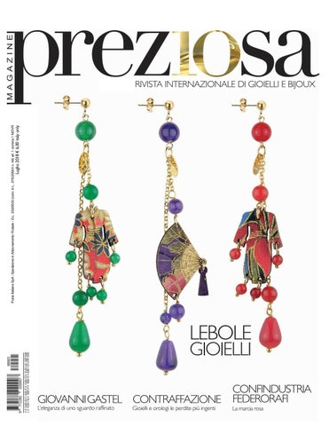 Preziosa Magazine n.3(2018) by GOLDEN AGENCY - issuu 4173f0c2823