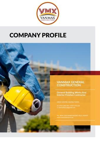 VANMAX Company Profile by Boni Gor - issuu