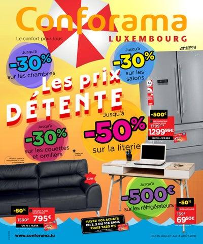 Doc 22 Les Prix Détente By Conforama Luxembourg Issuu