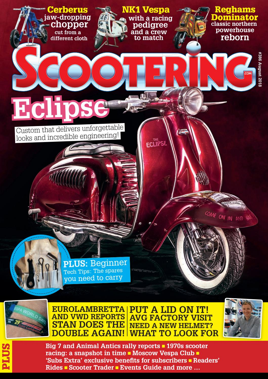 Scootering Magazine - August 218 - Issue 386 by Mortons