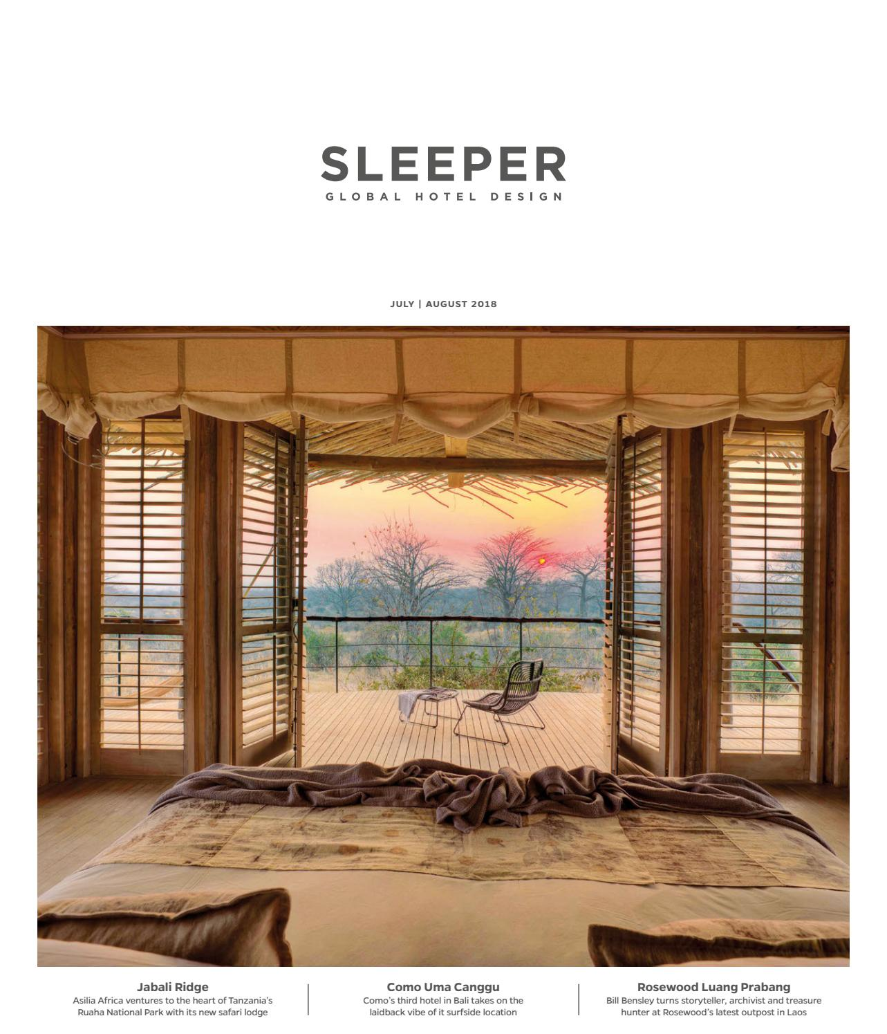 Sleeper July/August 2018 - Issue 79 by Mondiale Media - issuu
