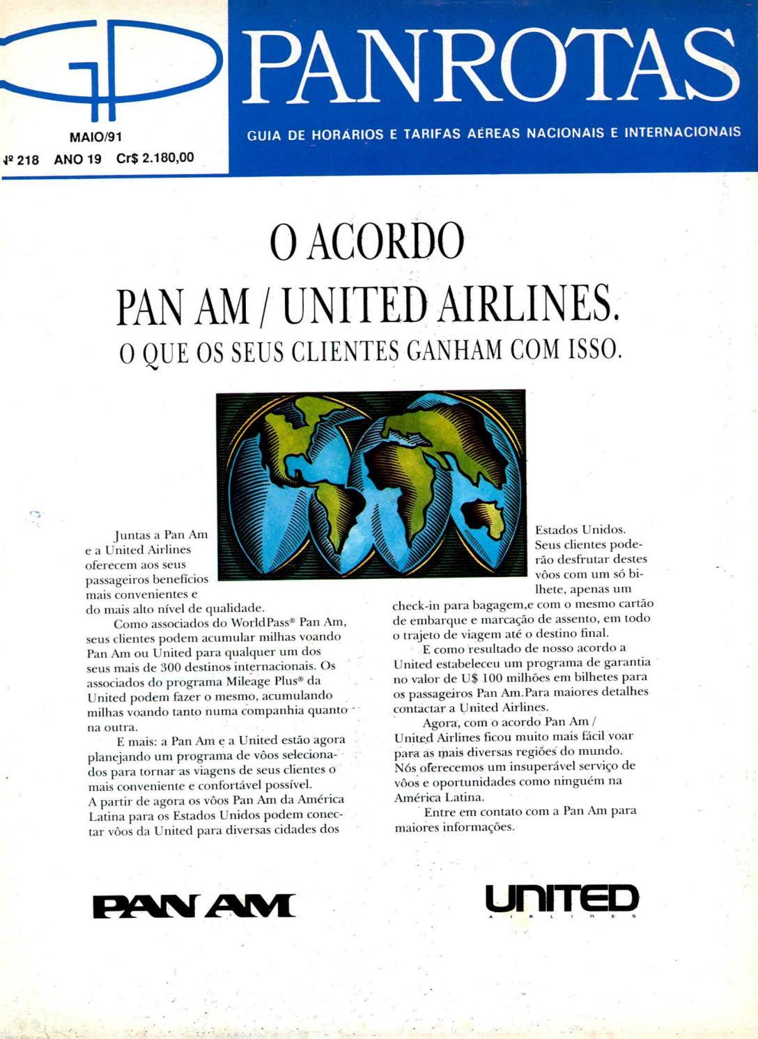 d727e11c5717a Guia PANROTAS - Edição 218 - Maio 1991 by PANROTAS Editora - issuu
