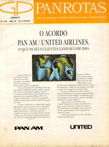 a09540dcab Guia PANROTAS - Edição 219 - Junho 1991 by PANROTAS Editora - issuu