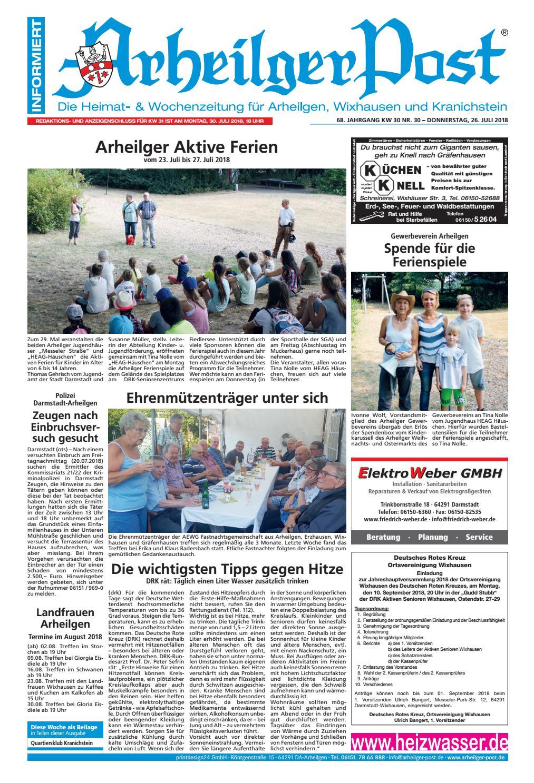 Arheilger Post KW30 by printdesign24gmbh - issuu