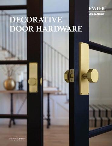 emtek decorative door hardware by clearymillwork issuu