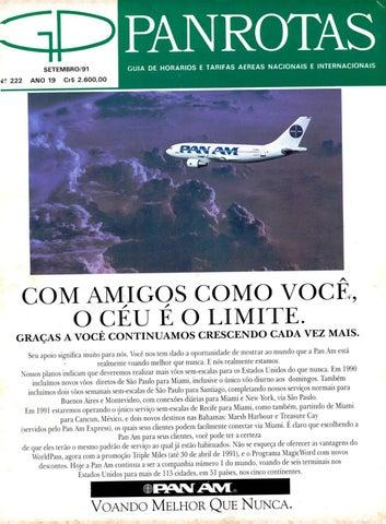 e1bc954deb Guia PANROTAS - Edição 222 - Setembro 1991 by PANROTAS Editora - issuu