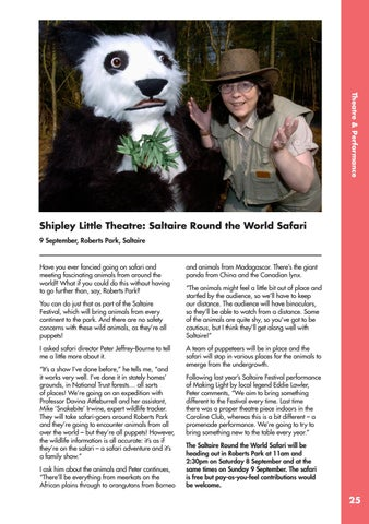 Page 25 of Shipley Little Theatre: Saltaire Round the World Safari
