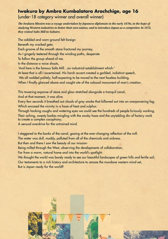 Page 9 of Saltaire Festival Poetry Competition