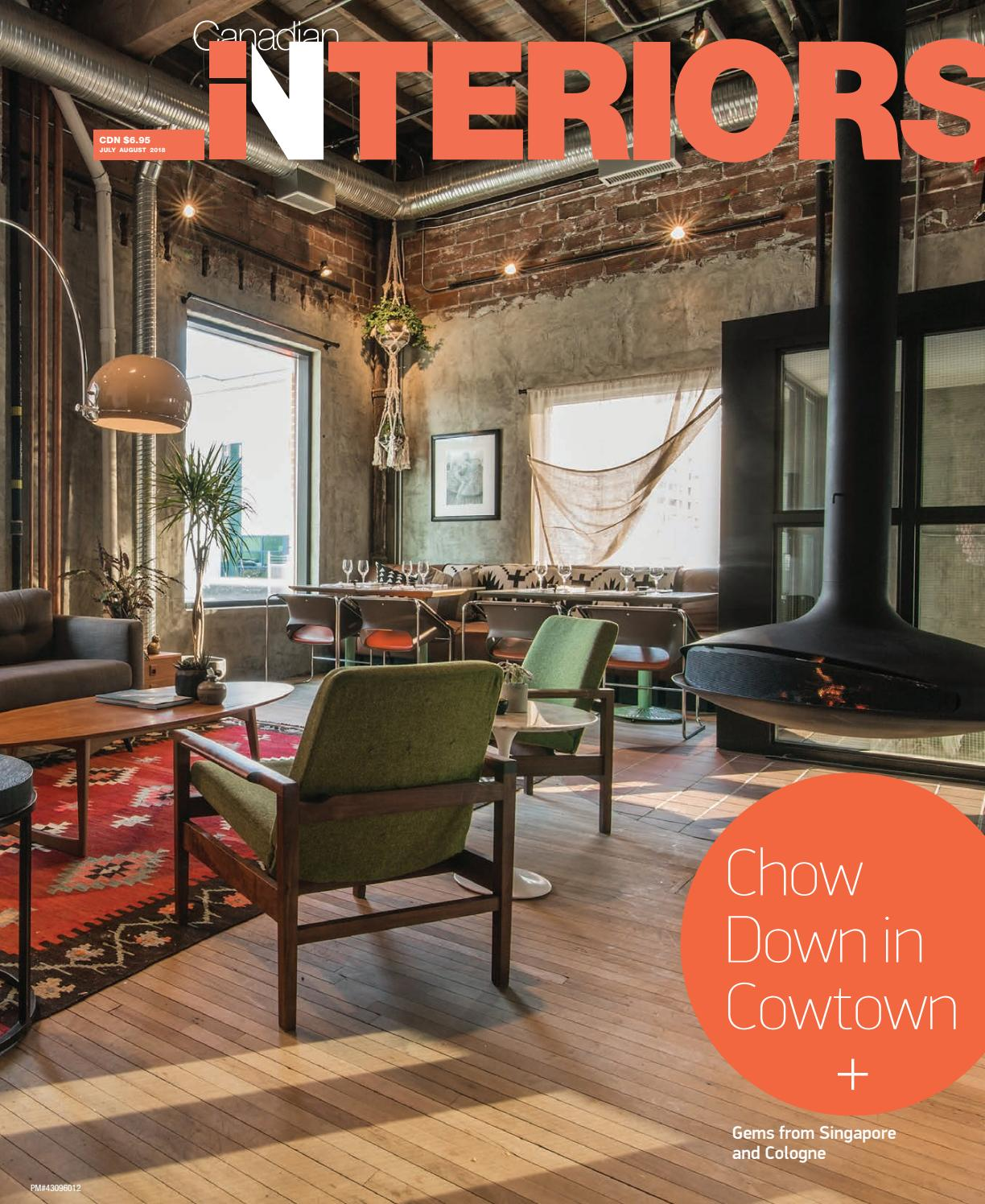 Canadian interiors july august 2018 by iq business media issuu