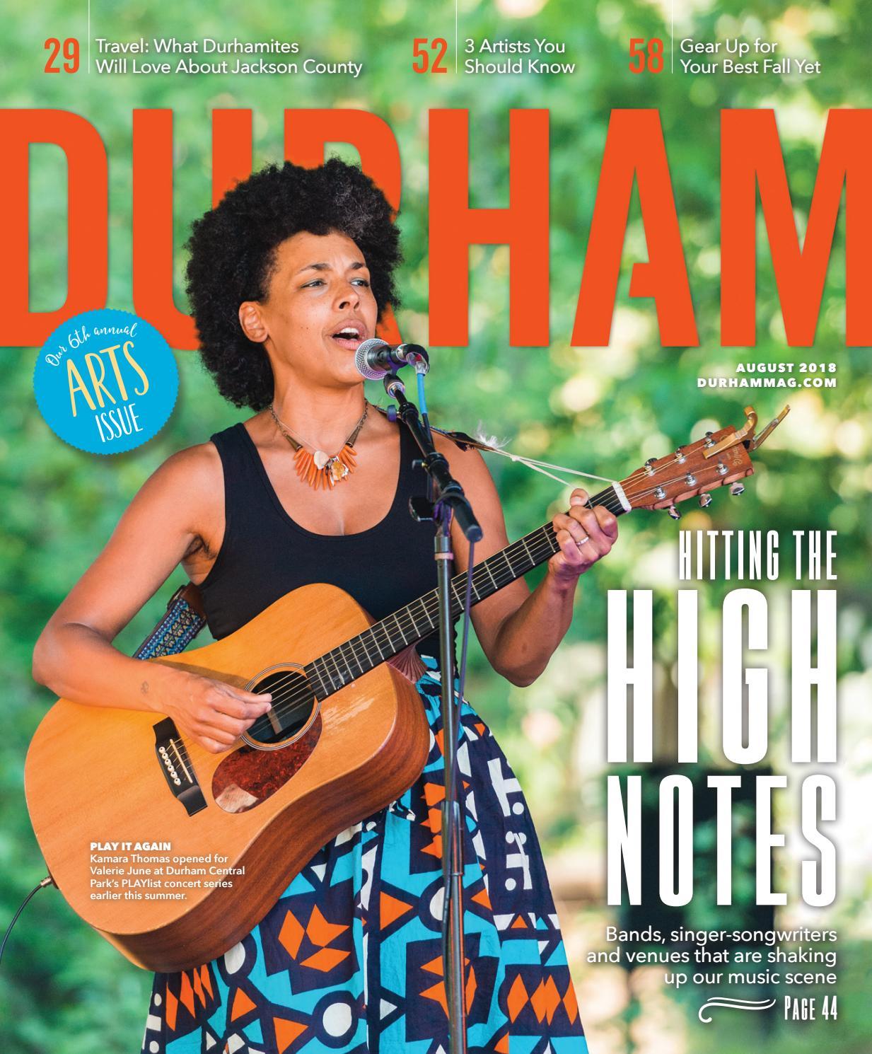 4d830fe925cd Durham Magazine August 2018 by Shannon Media - issuu