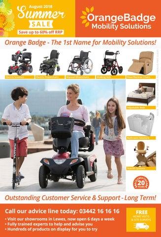 Orange Badge Summer Sale Catalogue August 2018 by Palmiero
