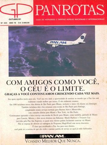 140c09533 Guia PANROTAS - Edição 223 - Outubro/1991 by PANROTAS Editora - issuu