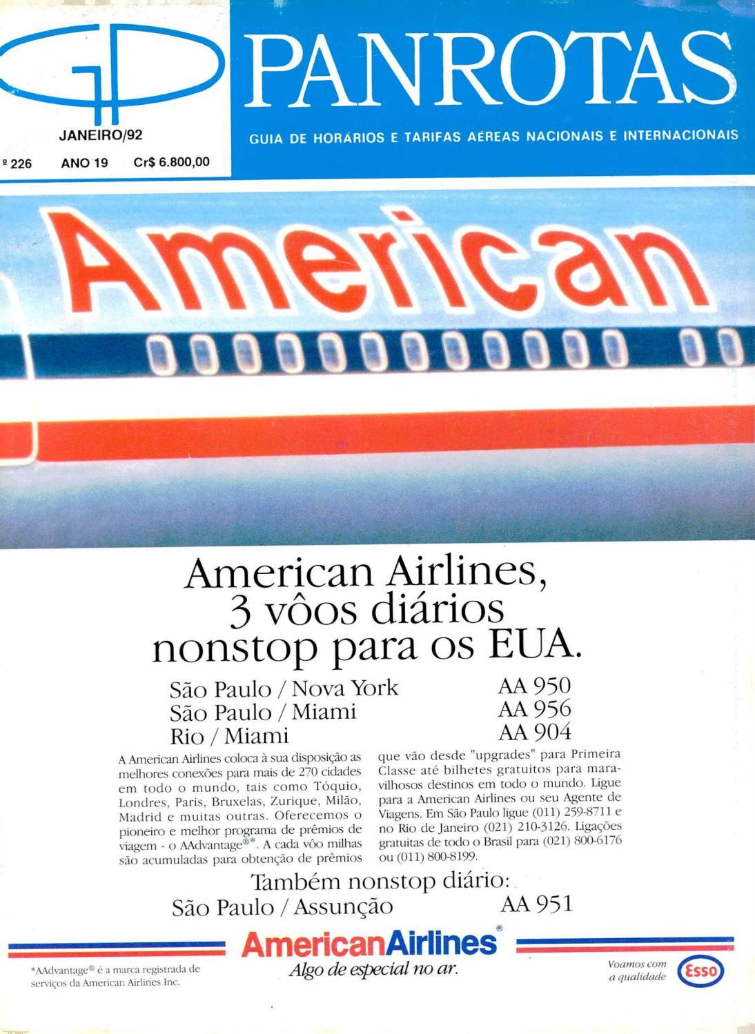 Guia PANROTAS - Edição 226 - Janeiro 1992 by PANROTAS Editora - issuu e1aea9414a