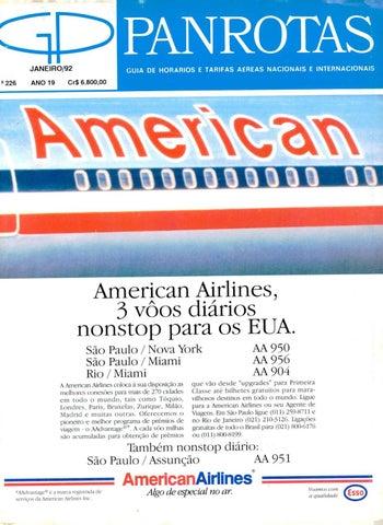 0fce9bca5caff Guia PANROTAS - Edição 226 - Janeiro 1992 by PANROTAS Editora - issuu
