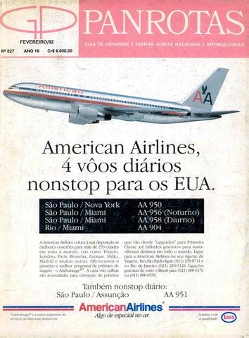 9f43d796201 Guia PANROTAS - Edição 227 - Fevereiro 1992 by PANROTAS Editora - issuu