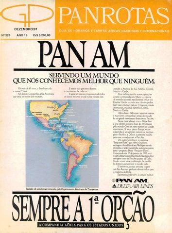 7388d5d4588 Guia PANROTAS - Edição 225 - Dezembro 1991 by PANROTAS Editora - issuu