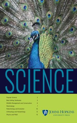 Johns Hopkins University Press Science Catalog 2018 By Susan Ventura