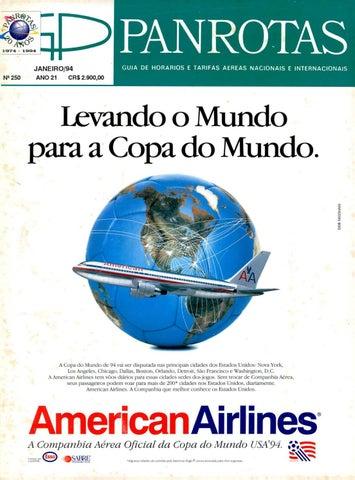 ca867f9c59852 Guia PANROTAS - Edição 250 - Janeiro 1994 by PANROTAS Editora - issuu