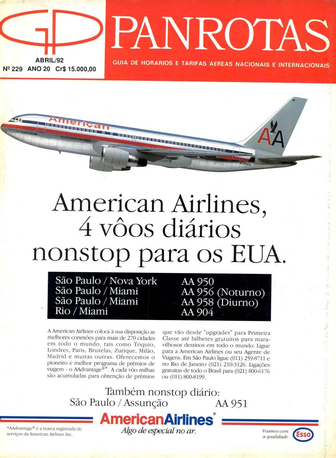 Guia PANROTAS - Edição 229 - Abril 1992 by PANROTAS Editora - issuu 8704c9c0f9e