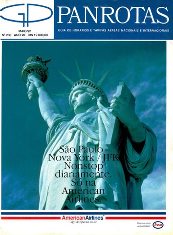 f306ef787eec5 Guia PANROTAS - Edição 230 - Maio 1992 by PANROTAS Editora - issuu