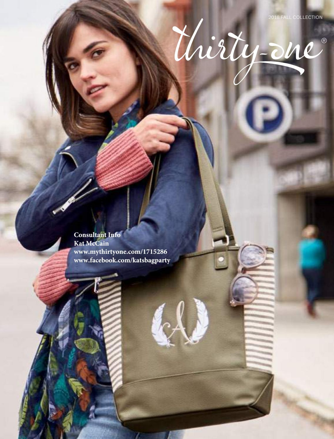 d71624954a4e Thirty-One Gifts, Kat McCain, Fall/Winter 2018-2019 Catalog with ...