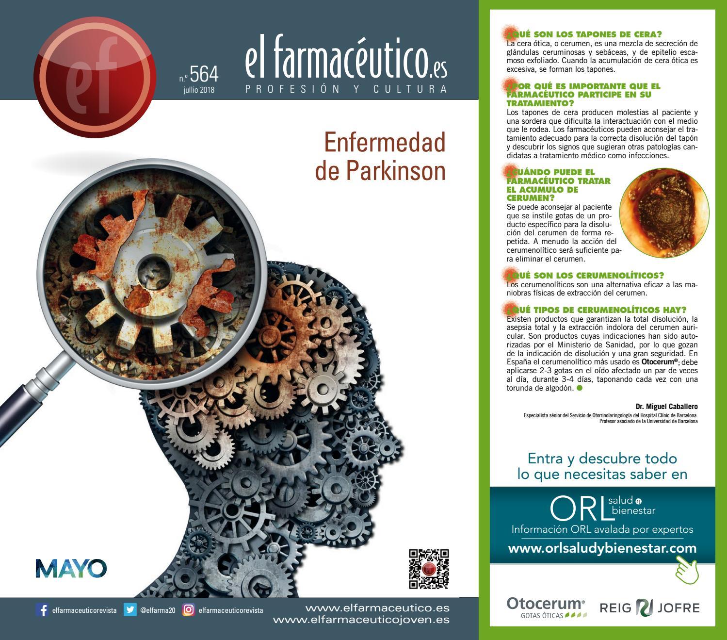 El Farmacéutico n.º 564 by Ediciones Mayo e8e053359e12