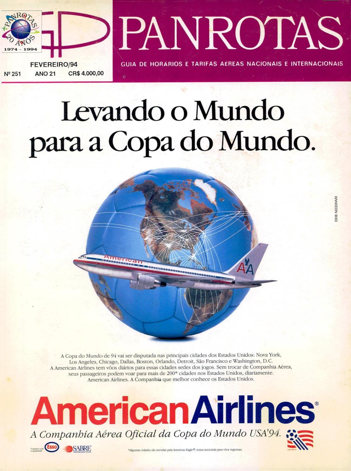 Guia PANROTAS - Edição 251 - Fevereiro 1994 by PANROTAS Editora - issuu 9fb719a2f8c47