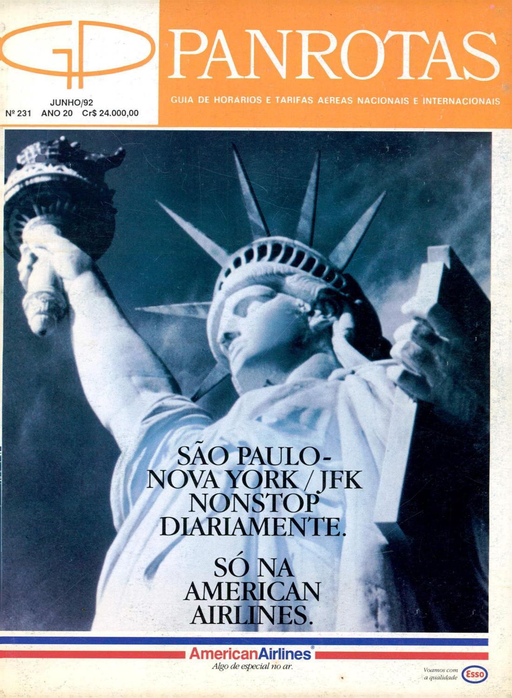 Guia PANROTAS - Edição 231 - Junho 1992 by PANROTAS Editora - issuu 2fce9319ee1e7