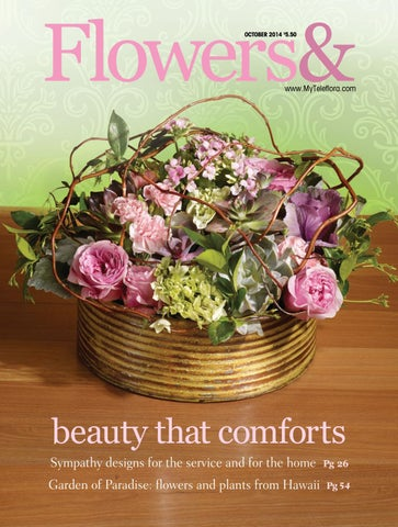 Flowers& - October 2014 by Teleflora - issuu