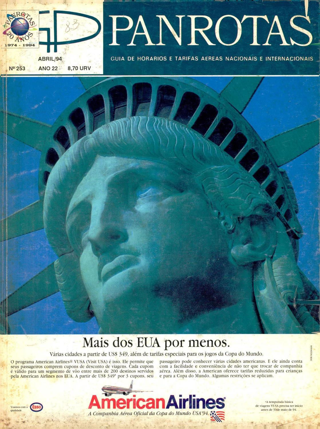 Guia PANROTAS - Edição 253 - Abril 1994 by PANROTAS Editora - issuu 32af7eea684