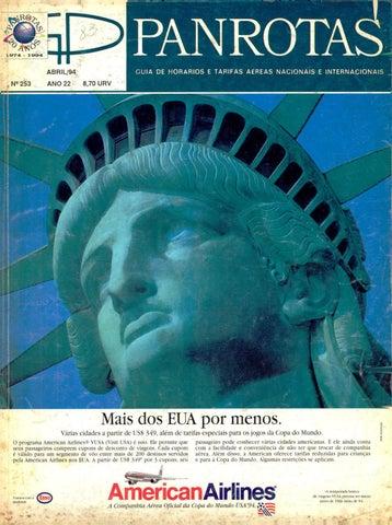 a89d768fa9 Guia PANROTAS - Edição 253 - Abril 1994 by PANROTAS Editora - issuu