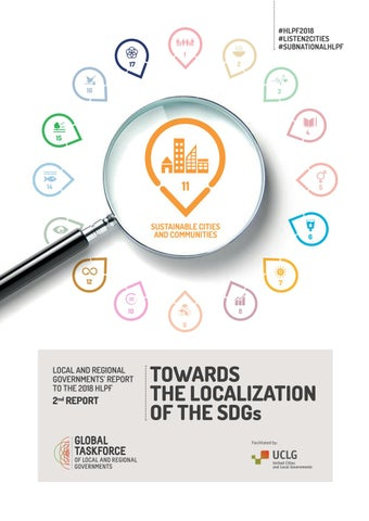 Towards the Localization of the SDGs by UCLG CGLU - issuu