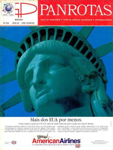 b5c123cfc20bf Guia PANROTAS - Edição 254 - Maio 1994 by PANROTAS Editora - issuu