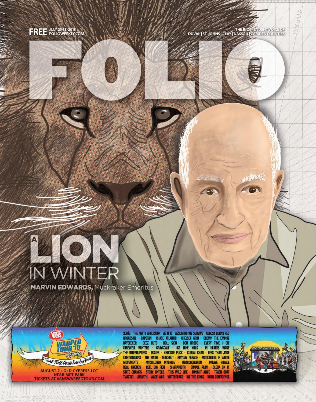 b1a3206b8 A Lion In Winter by Folio Weekly - issuu