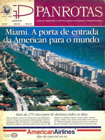 2d8eca42a31b4 Guia PANROTAS - Edição 257 - Agosto 1994 by PANROTAS Editora - issuu