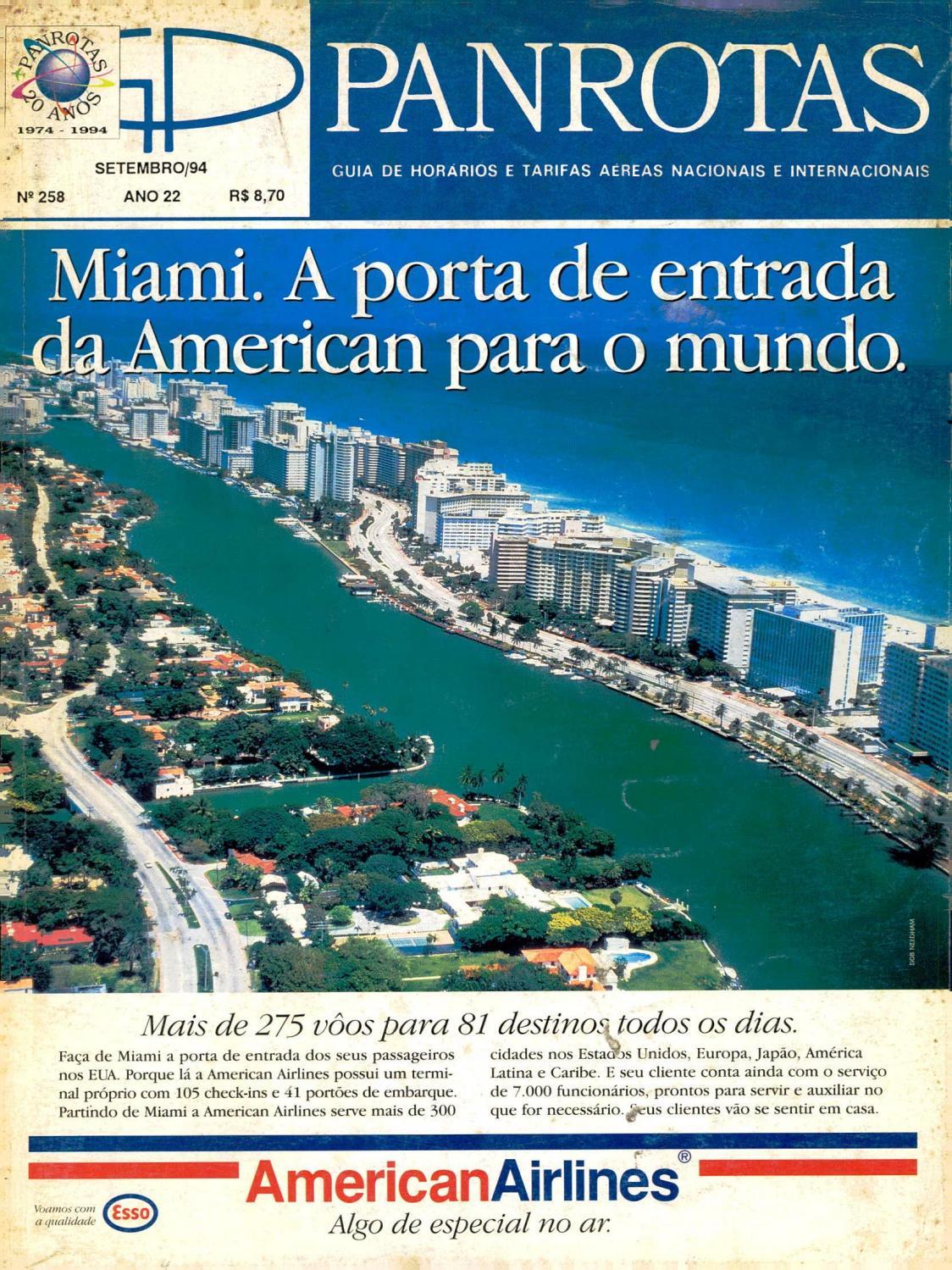 Guia PANROTAS - Edição 258 - Setembro 1994 by PANROTAS Editora - issuu 1aaf7f8c88c