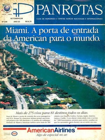 9cb6ae52903d Guia PANROTAS - Edição 258 - Setembro 1994 by PANROTAS Editora - issuu
