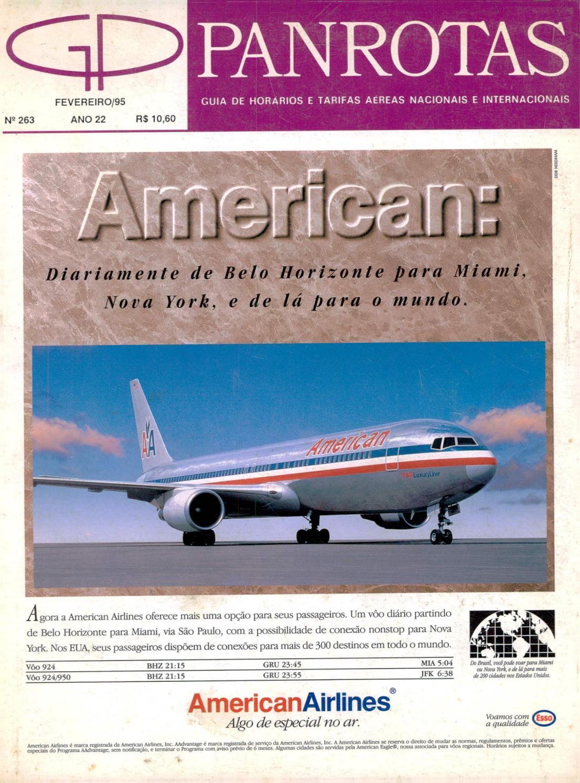 4fbdd45584d Guia PANROTAS - Edição 263 - Fevereiro 1995 by PANROTAS Editora - issuu