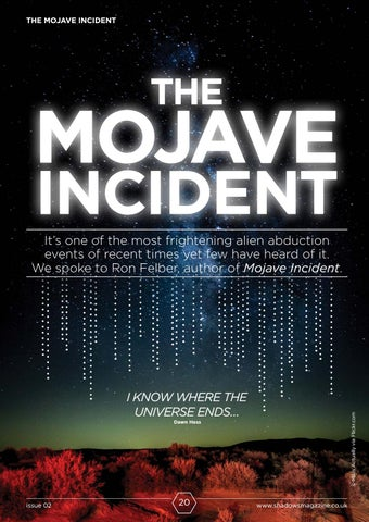 Page 20 of The Mojave Incident