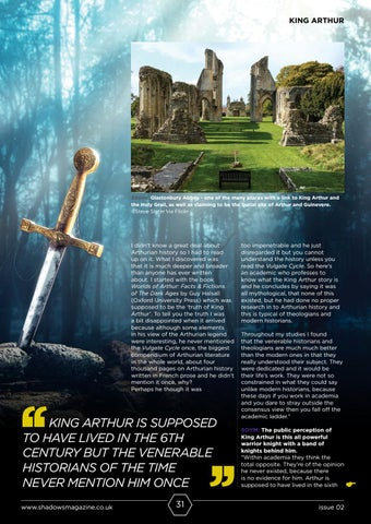 Page 31 of The Myth Behind The Legend of King Arthur