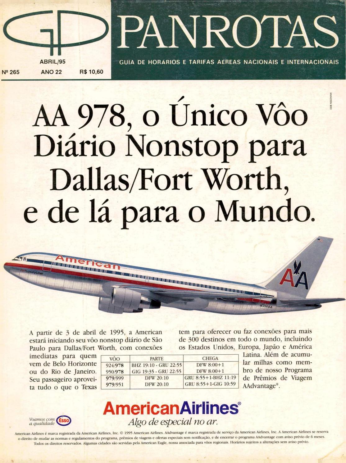 a924651460f94 Guia PANROTAS - Edição 265 - Abril 1995 by PANROTAS Editora - issuu