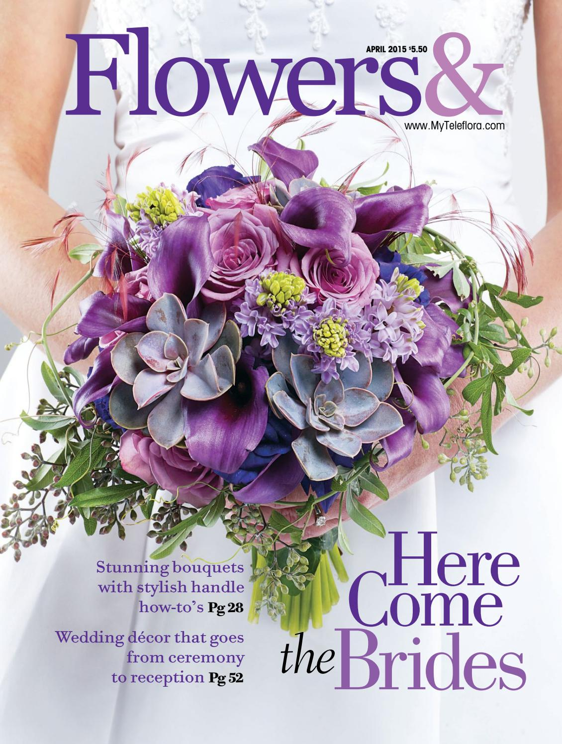 candles as wedding decor united with love.htm flowers  april 2015 by teleflora issuu  flowers  april 2015 by teleflora issuu