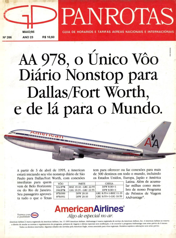 ca8630d4aa5 Guia PANROTAS - Edição 266 - Maio 1995 by PANROTAS Editora - issuu