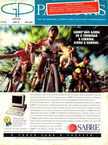 0cc225c2f6e03 Guia PANROTAS - Edição 267 - Junho 1995 by PANROTAS Editora - issuu