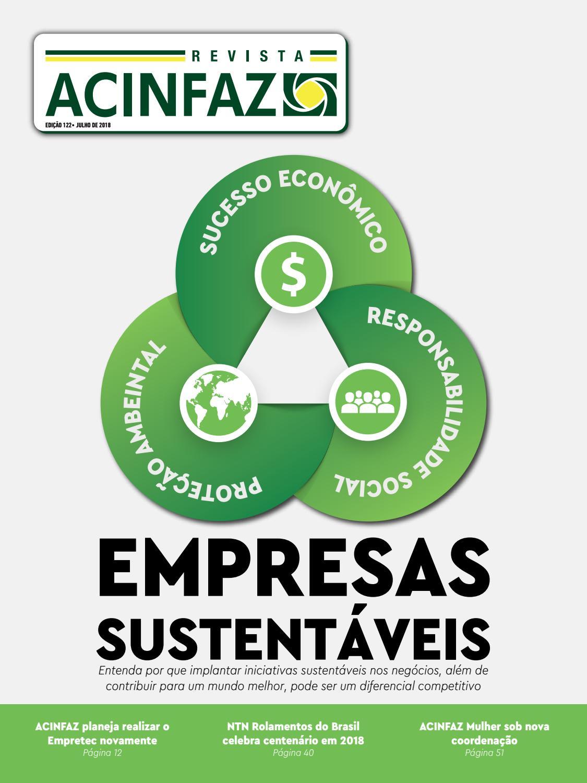 Revista ACINFAZ - Edição 122 Julho 2018 by Associação Comercial e  Industrial de Fazenda Rio Grande (ACINFAZ) - issuu df0ba7c751