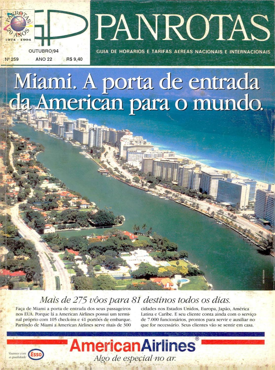 3b513d38682 Guia PANROTAS - Edição 259 - Outubro 1994 by PANROTAS Editora - issuu