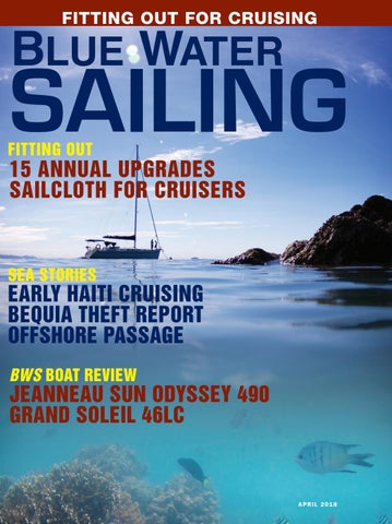 Blue Water Sailing April 2018