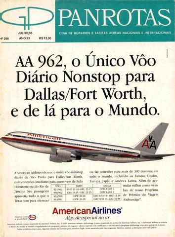 Guia PANROTAS - Edição 268 - Julho 1995 by PANROTAS Editora - issuu 42a1c031bfa
