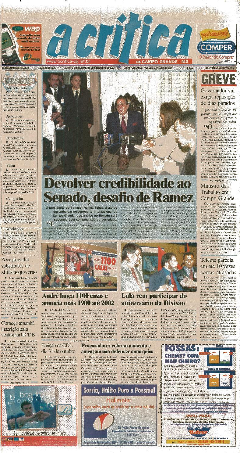 Jornal A Critica - Edição 1047 - 23 09 2001 by JORNAL A CRITICA - issuu feddd2f45717e